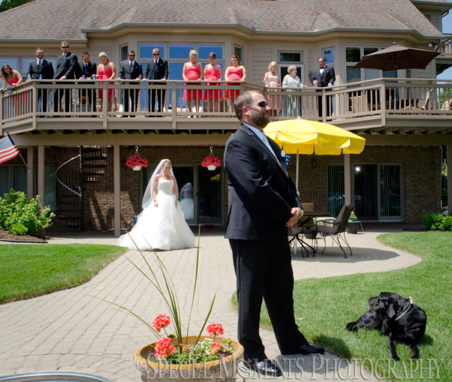 Lutheran Church of the Redeemer Birmingham MI wedding photograph