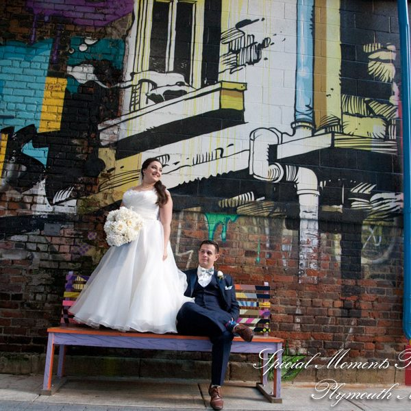 Autumn & Mike's Nuptials & Party: Detroit Beer Company Wedding in Downtown Detroit