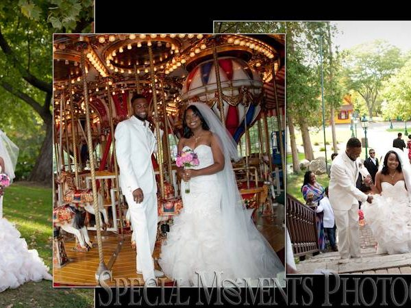 Elisha & Tiyashia's Wedding Album Design: Kings Court Castle Lake Orion