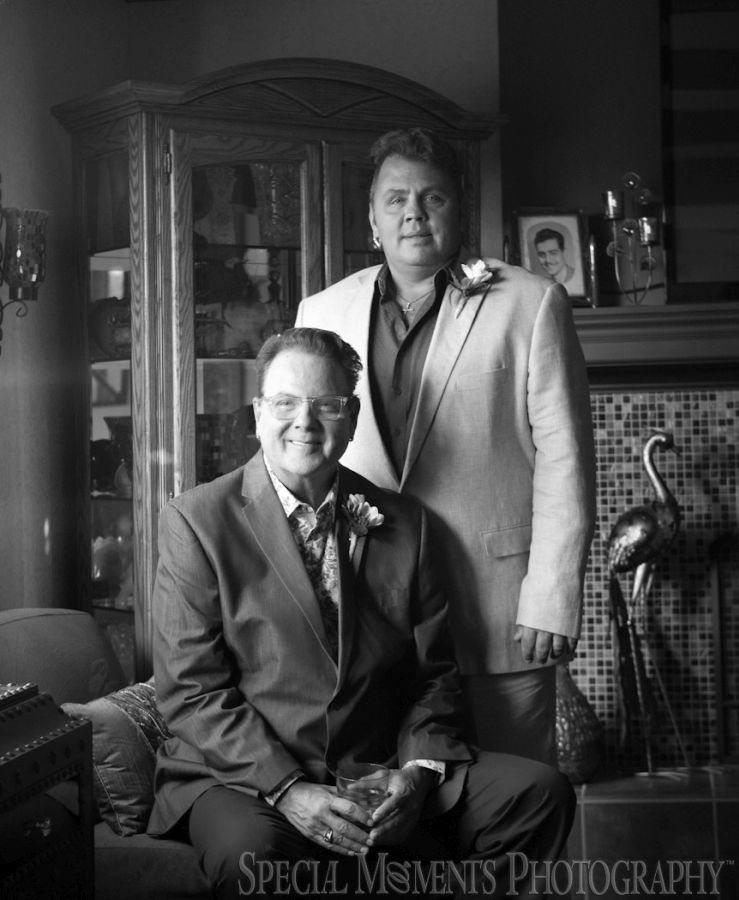 Home Wedding MI LGBT wedding photograph