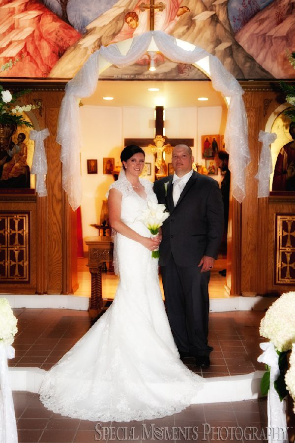 St. Panteleimon Chapel Lexington MI wedding photograph