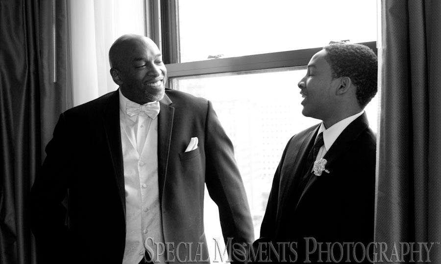 Historic Trinity Church Detroit MI wedding photograph