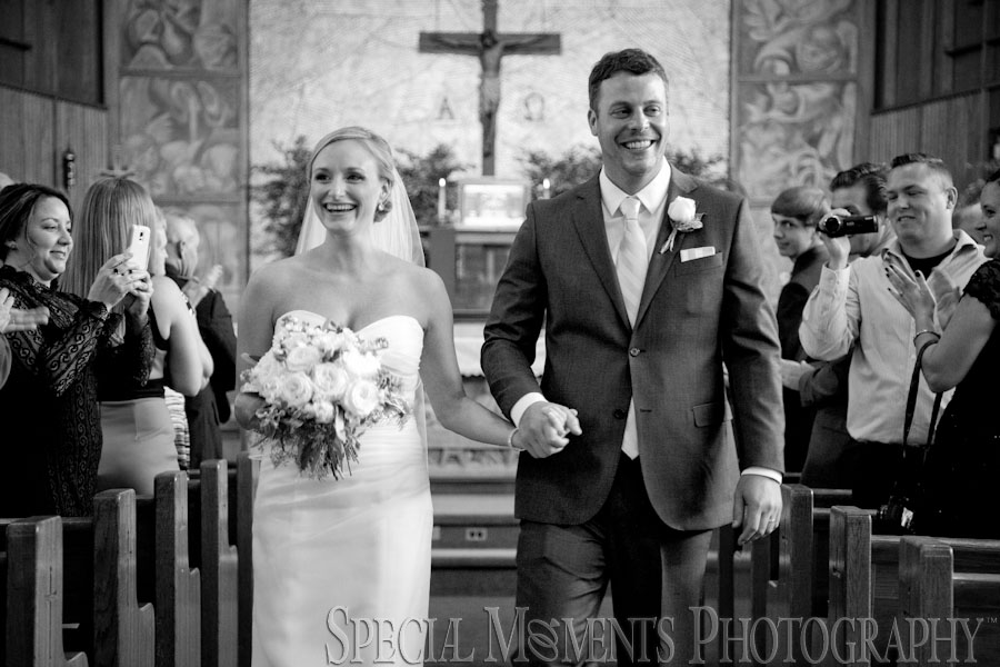 Christ the Good Shepherd Catholic Lincoln Park MI wedding photograph
