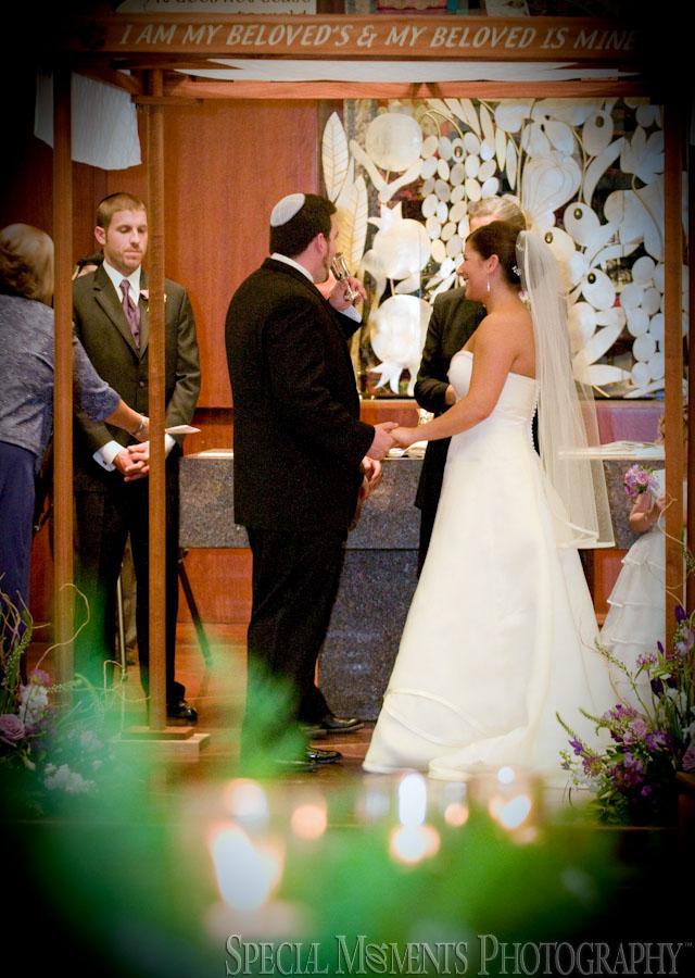 Temple Beth Emeth Ann Arbor MI wedding photography