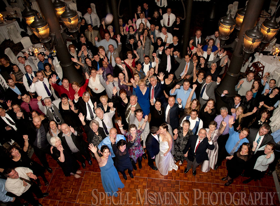 Inn at St. John's Atrium Ballroom Plymouth MI wedding photograph