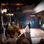 Inn at St. John's Atrium Ballroom Plymouth MI Wedding Photo