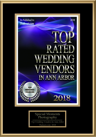 WeddingWire Top Ranked Special Moments Photography
