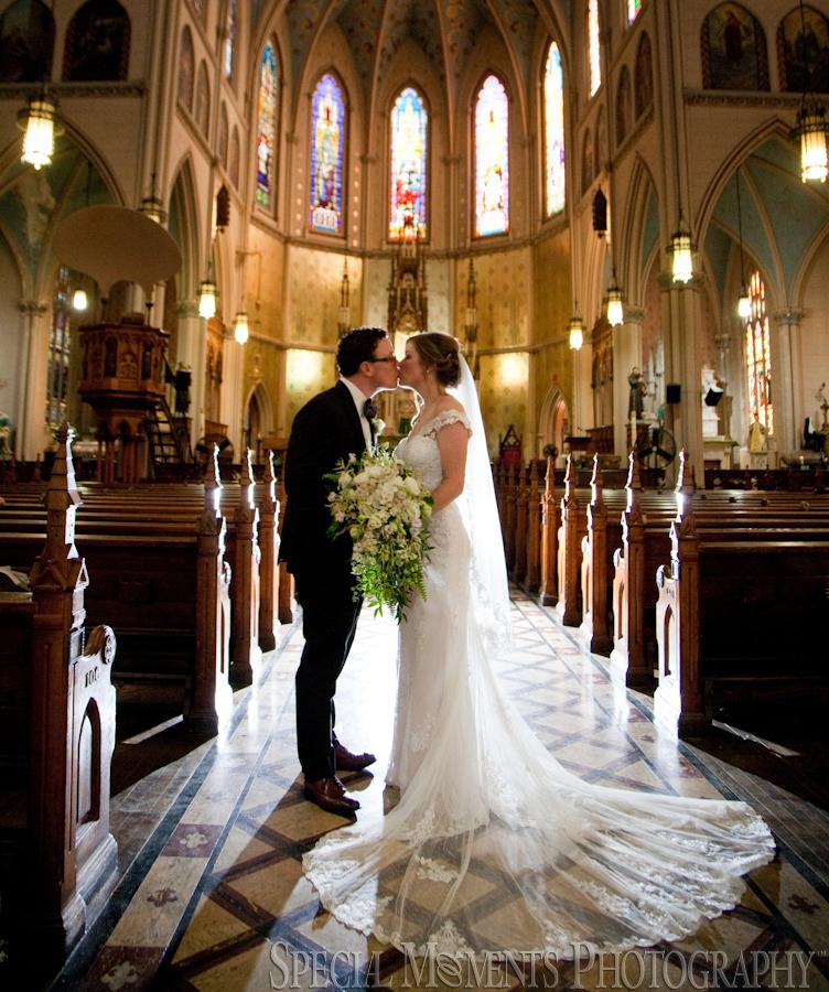 St. Anne's Catholic Church Detroit MI wedding photograph