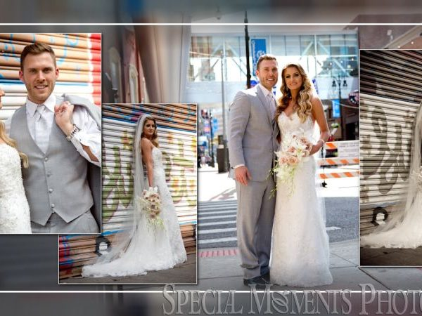 Robert & Jennifer: Wedding Album Design: Waterview Loft Wedding at Port Detroit & Old St. Mary's Catholic Church