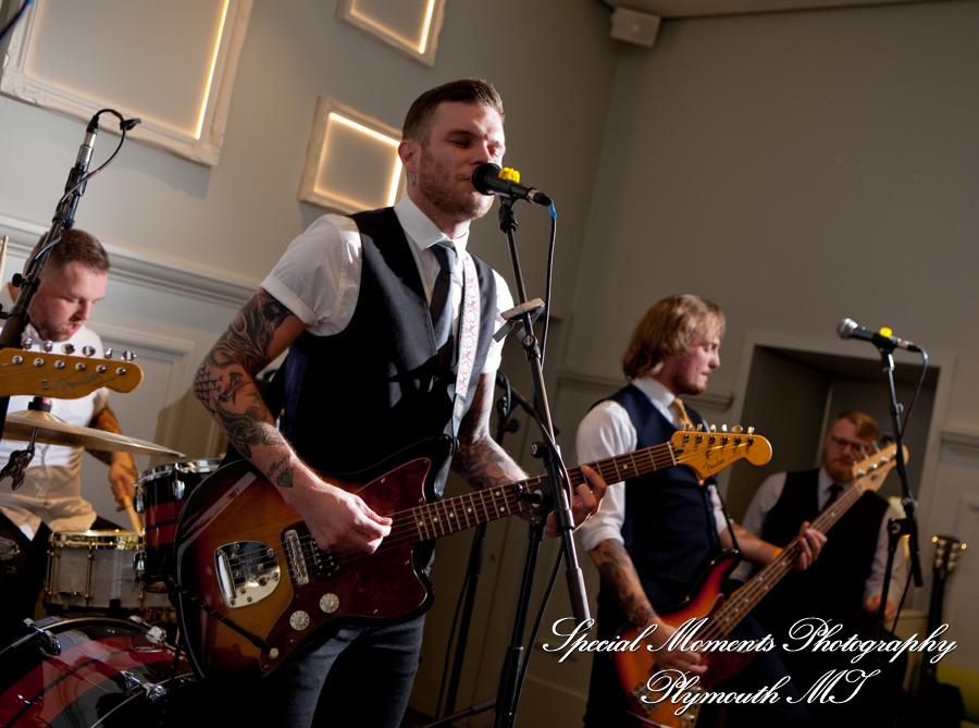 Cold Years Band at The National Gallery London England