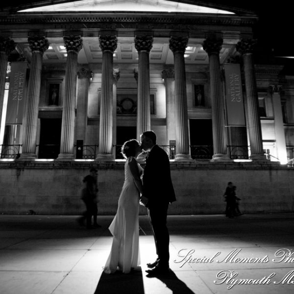Ashley & Randy's National Gallery London Wedding Near Trafalgar Square