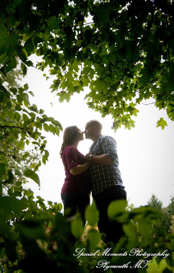 Quarton Park Birmingham MI engagement photograph