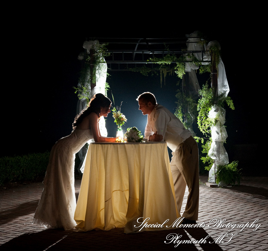 Cherry Creek Golf Club Shelby Twp. MI wedding photograph