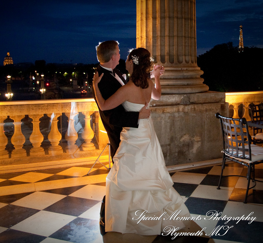 Hotel de Crillon Paris France wedding photograph