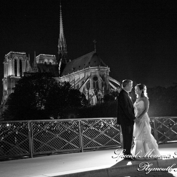 Mark & Colleen's Remembering our Wedding photos around Notre Dame Cathedral Paris France & some thoughts on the fire.