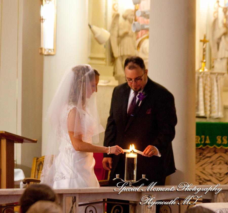 Holy Family Catholic Church Detroit MI wedding photograph
