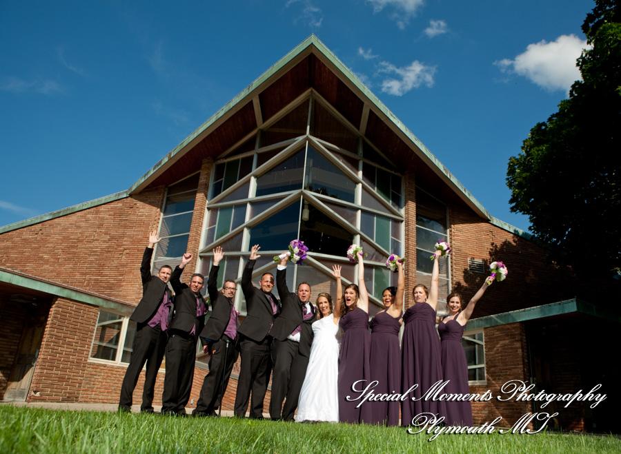 St. Agatha Redford MI wedding photograph