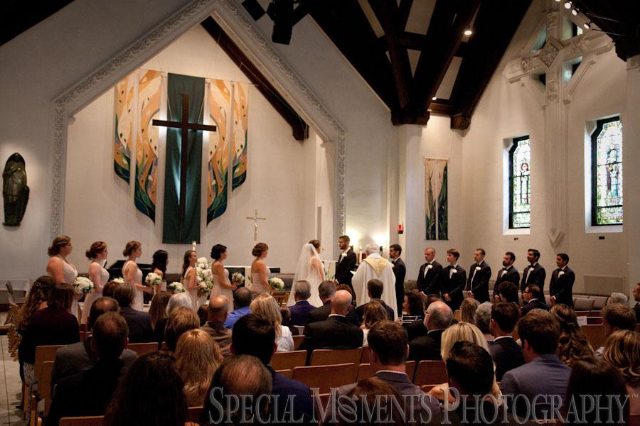 St. Mary's Chapel Ann Arbor MI wedding photograph