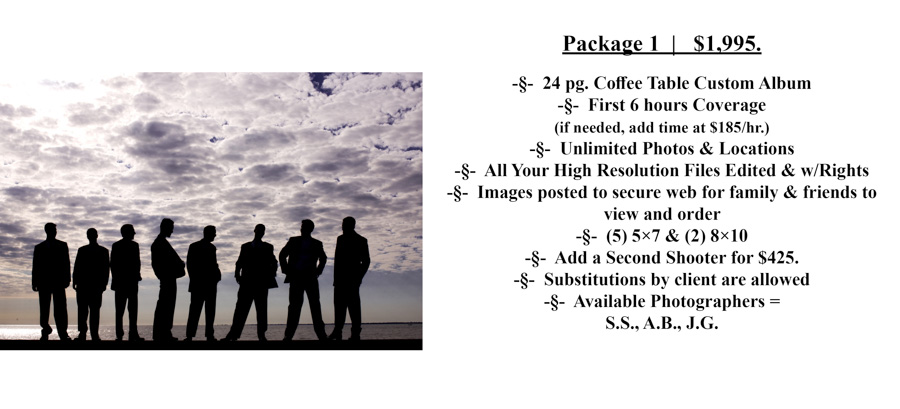 #1 Special Moments Photography Pricing wedding photograph