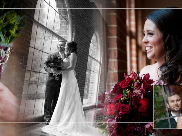 Charles & Andrea: Coffee Table Design | Inn at St. John Galilee Ballroom & Chapel Plymouth MI