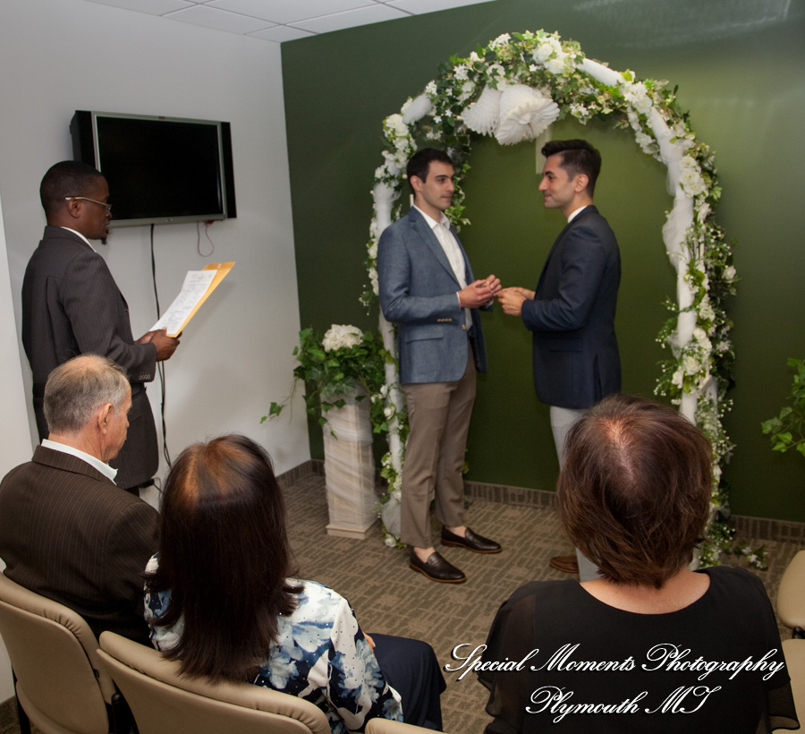 County Courthouse Detroit MI wedding photography