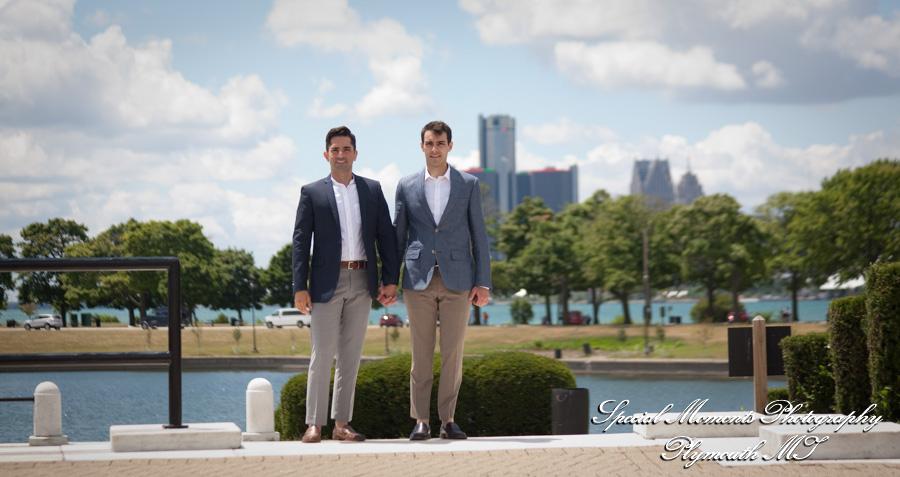 Flynn Pavilion Belle Isle Detroit MI wedding photography