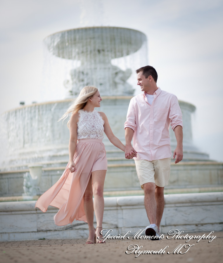 engagement Belle Isle Detroit MI photograph