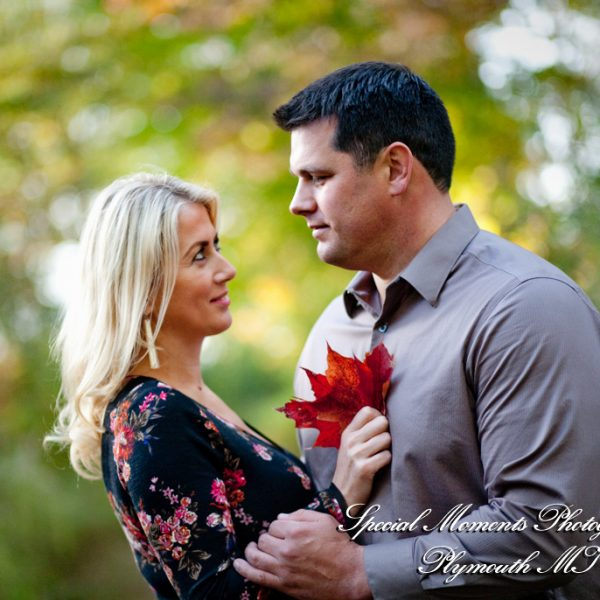 Elona & Randy's Fall Engagement Photos at Marshbank Park West Bloomfield MI