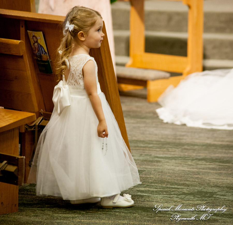 St. Colette Livonia MI wedding photograph