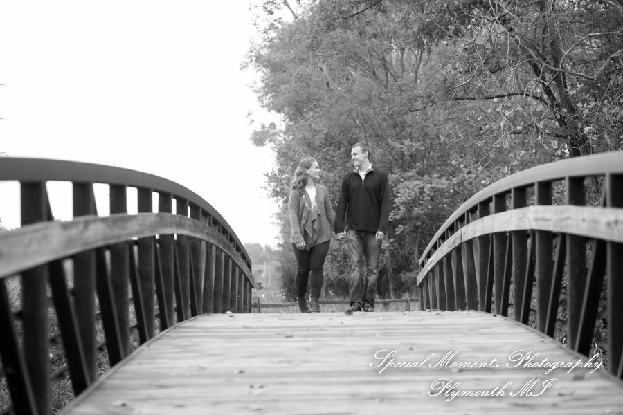 Eliason Nature Reserve Portage MI Engagement photograph
