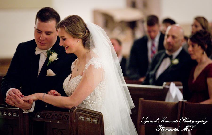 Gesu Roman Catholic Church Detroit MI wedding photograph