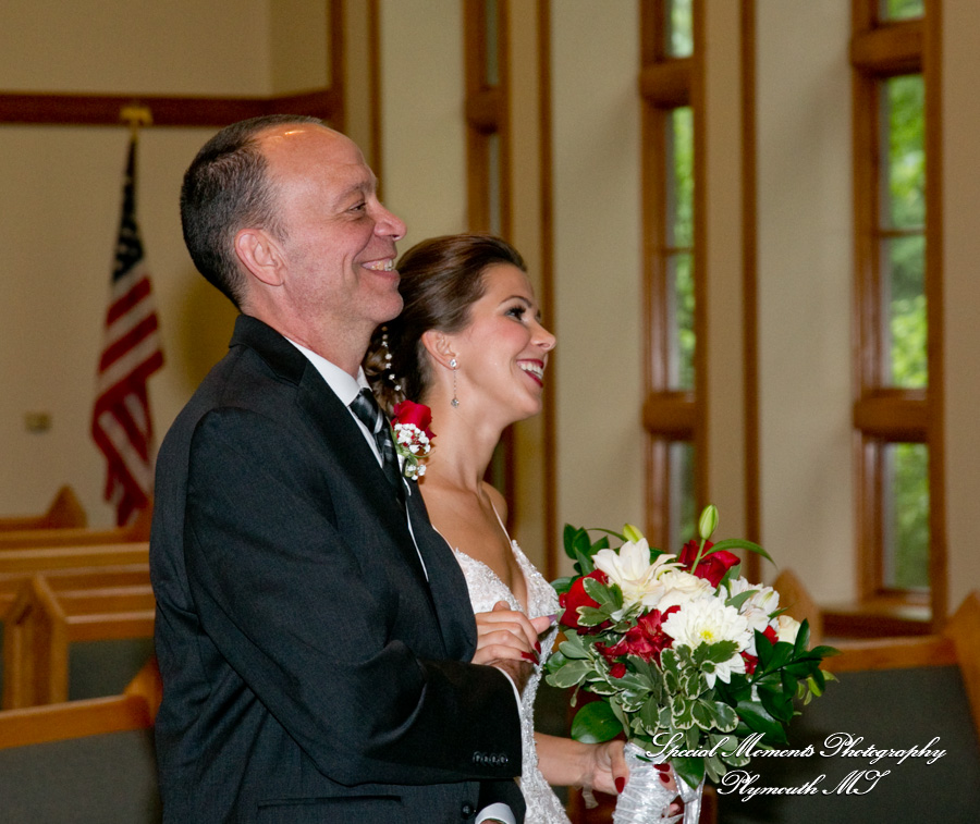Oak Arbor Church Rochester Mi: Marina & Mark: Oak Arbor Church Rochester Weddings