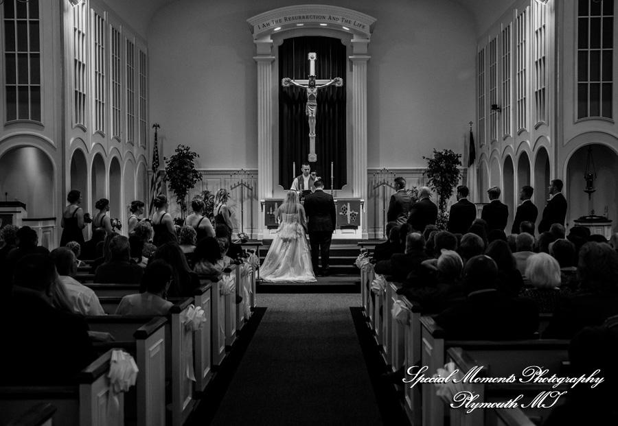 St. Paul Lutheran Trenton MI wedding photograph