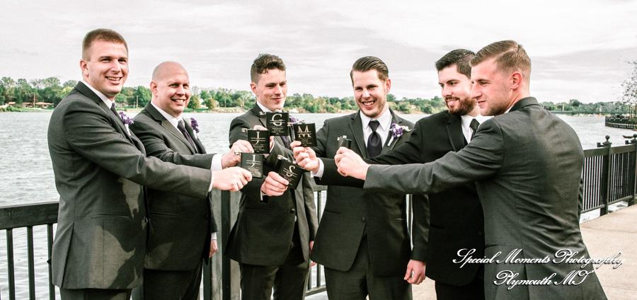 Elizabeth Park Trenton MI wedding photograph