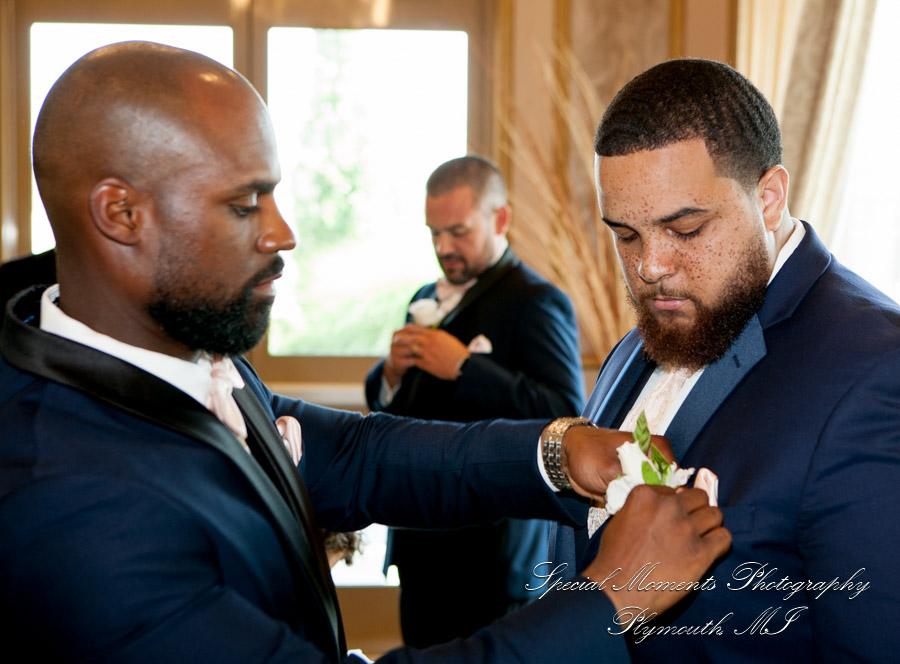 The Bentley Wyandotte MI wedding photograph