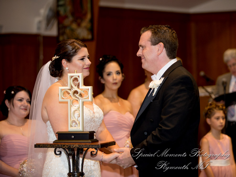 Our Lady of Victory Northville MI wedding photograph