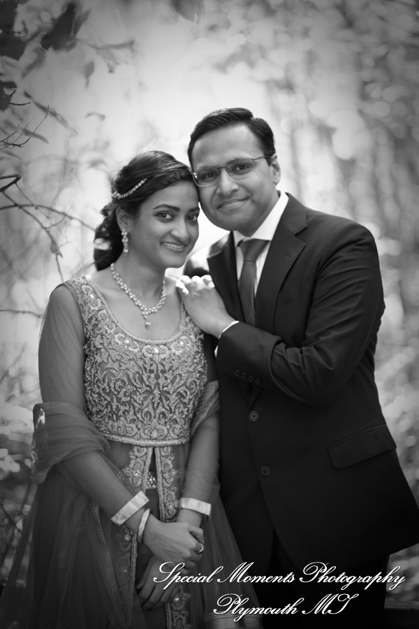Ford Field Park Dearborn MI Hindu wedding photograph