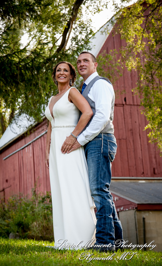 Heritage Park Farmington Hills MI wedding photograph
