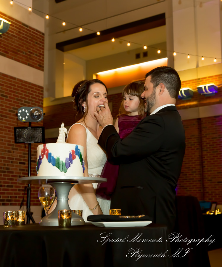 Rattlesnake Club Detroit MI wedding photograph