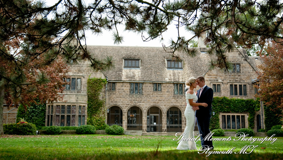 Edsel & Eleanor Ford House Grosse Pointe Shores MI wedding photograph