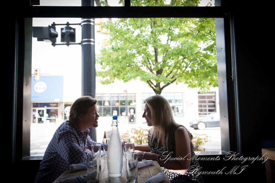Berkley Common MI engagement photograph