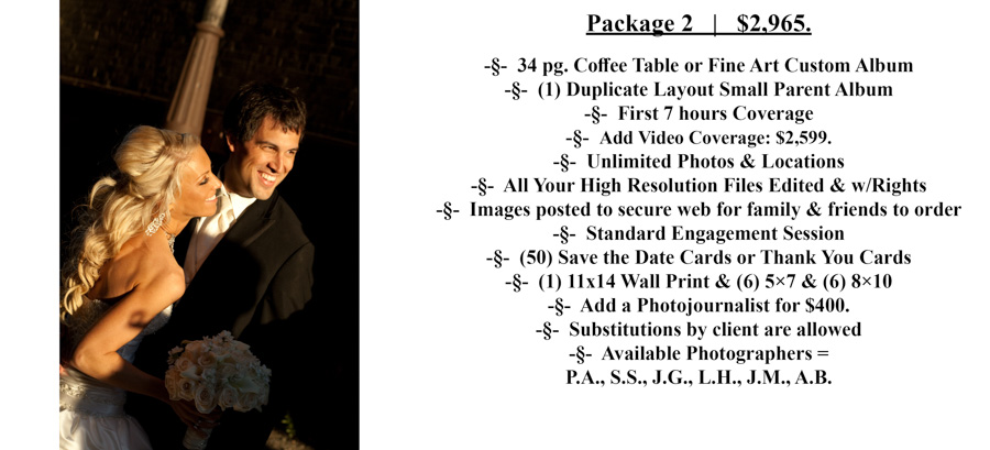 #2 Special Moments Photography Pricing wedding photograph