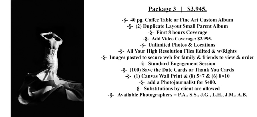 #3 Special Moments Photography Pricing wedding photograph