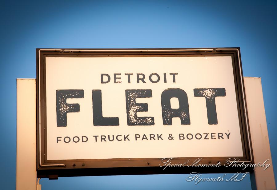 Detroit Fleet Royal Oak MI wedding photograph