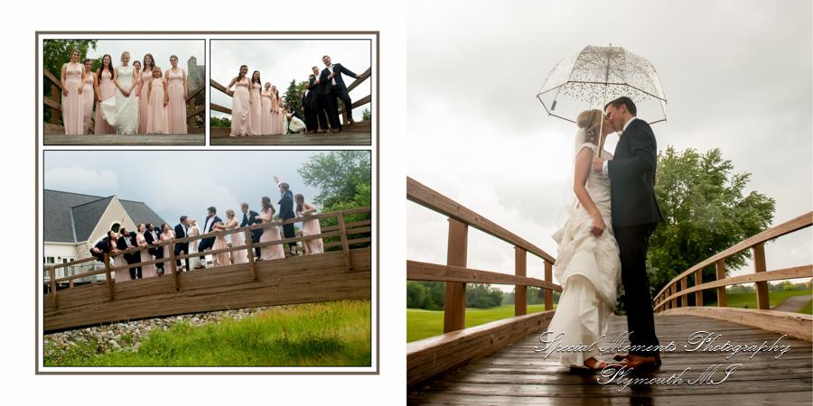 Glen Oaks Country Club Farmington Hills MI wedding photograph