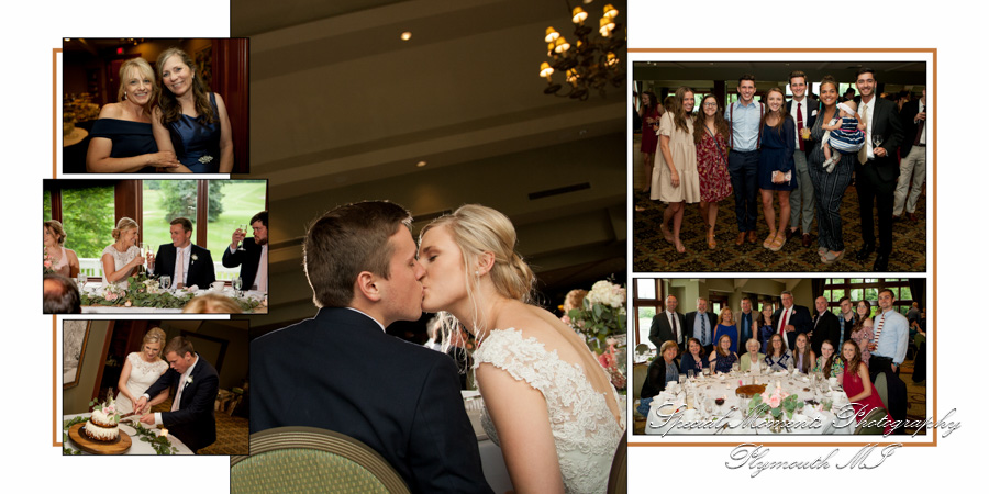 Glen Oaks Country Club Farmington Hills MI wedding photograph