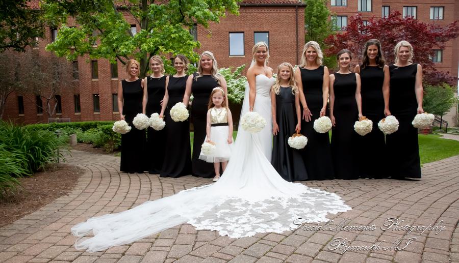 St. John Chapel Plymouth MI wedding photograph