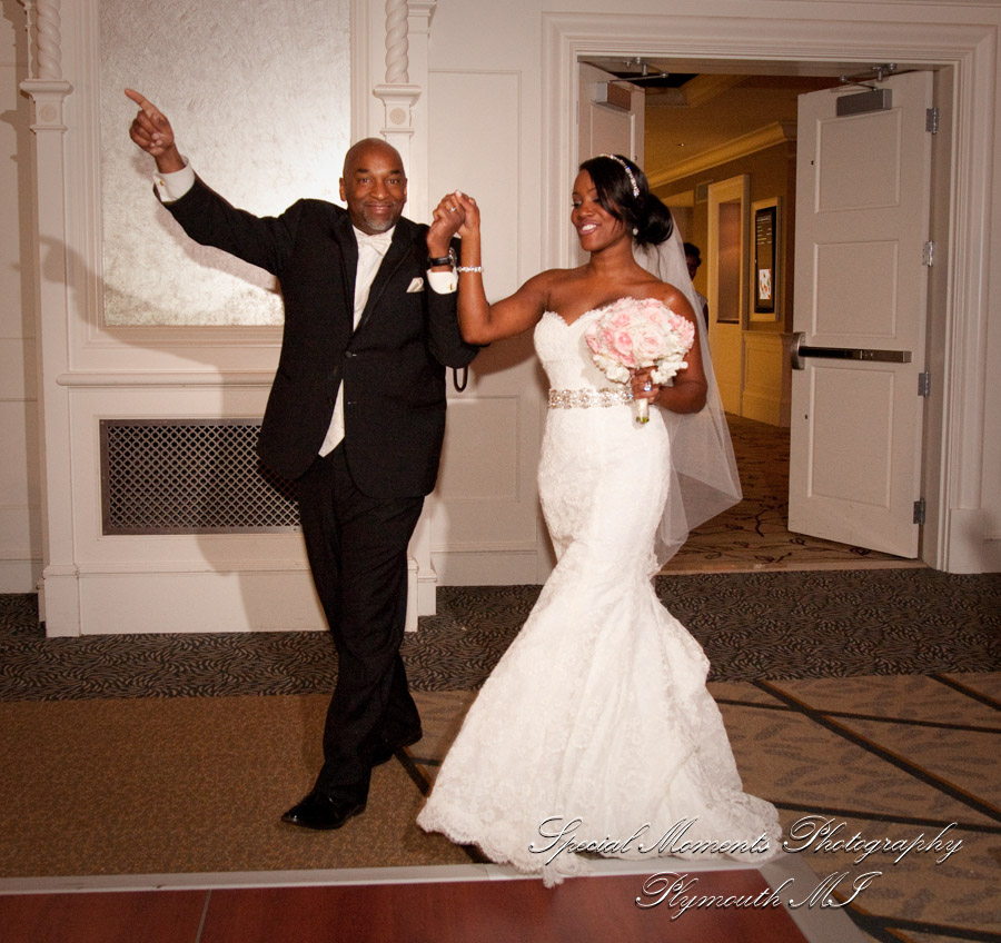 Westin Book Cadillac Detroit MI wedding photograph