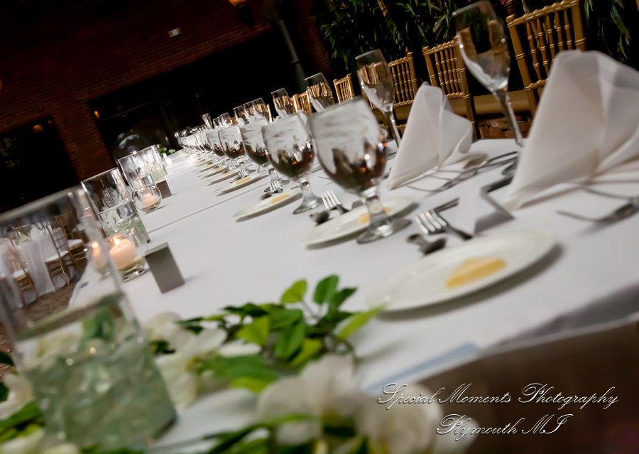 Inn At St. John Atrium Ballroom Plymouth MI wedding photograph