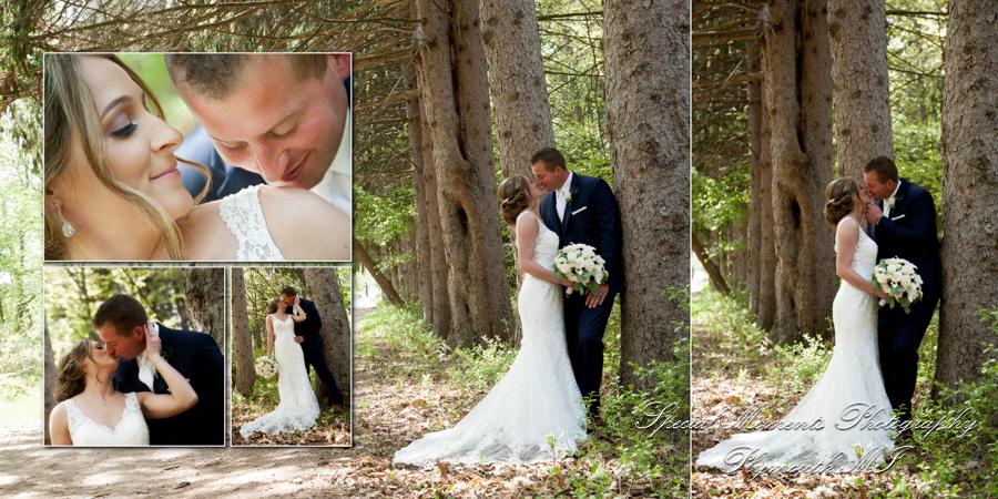 Stony Creek Metropark Utica wedding photograph